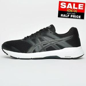 Asics Gel-Exalt 5 Homme Premium Chaussures De Course Fitness Gym Baskets Noir