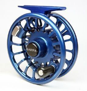 ROD FREE US SHIPPING GALVAN T-5 SPARE SPOOL FOR TORQUE 5 FLY REEL BLUE #5//6 WT