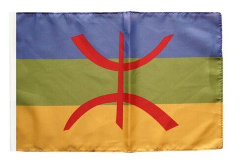 Berber Amazigh Banner berberische Fahnen Flaggen 30x45cm