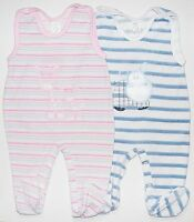 Strampler Nicki Babystrampler Baby Bekleidung Gr. 62 68 80 Baumwolle Neu