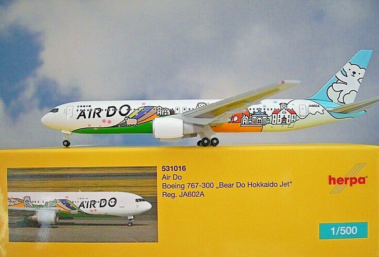 Herpa Wings 1 500 Boeing 767-300 Air Do Do Do Ja602a 531016 Modellairport500 42559e