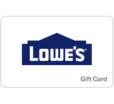 Lowes Gift Card - $25, $50, $100 or $200 - Email delivery