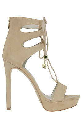 NEW Lipstik Narrow Camel Sandal Beige
