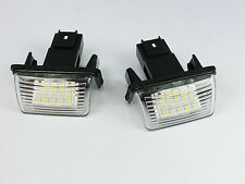 LED NUMBER PLATE LICENSE PANEL LIGHT LAMP PEUGEOT 207