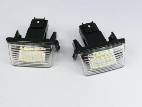 LED NUMBER PLATE LICENSE PANEL LIGHT LAMP CITROEN PICASSO C4