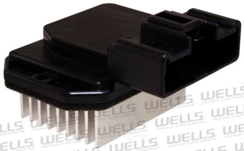 HVAC Blower Motor Resistor Front WVE BY NTK 4P1600