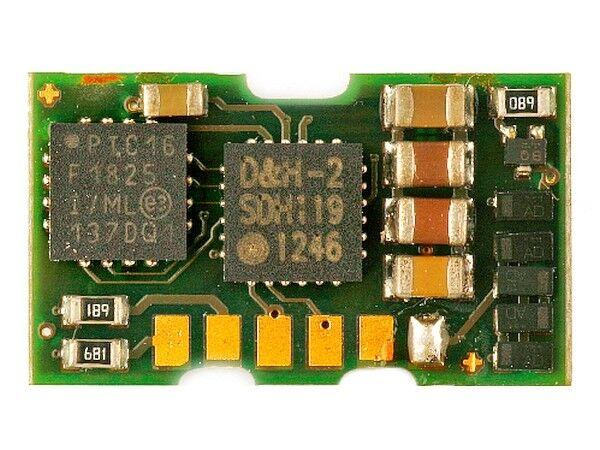 Doehler & Haass DH06A Fahrzeugdecoder Miniaturmotoren 6V SX1, SX2, DCC und MM
