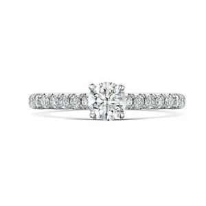 Real-Solid-18K-White-Gold-0-72-Ct-Diamond-Solitaire-Engagement-Women-Ring-5-6-7