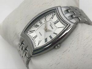 Steel by Design Women Watch Swiss Parts Silver Tone Analog Wrist Watch 3 ATM