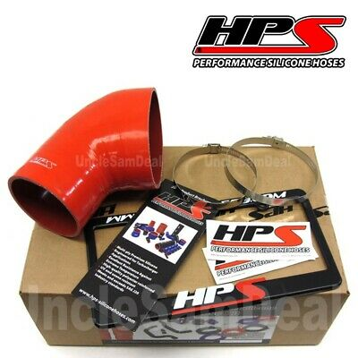 HPS PERFORMANCE REINFORCED SILICONE AIR INTAKE HOSE BMW E46 M3 ONLY RED