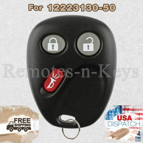 Car Transmitter Alarm Remote Key Control for 2004 2005 2006 Cadillac SRX 3btn
