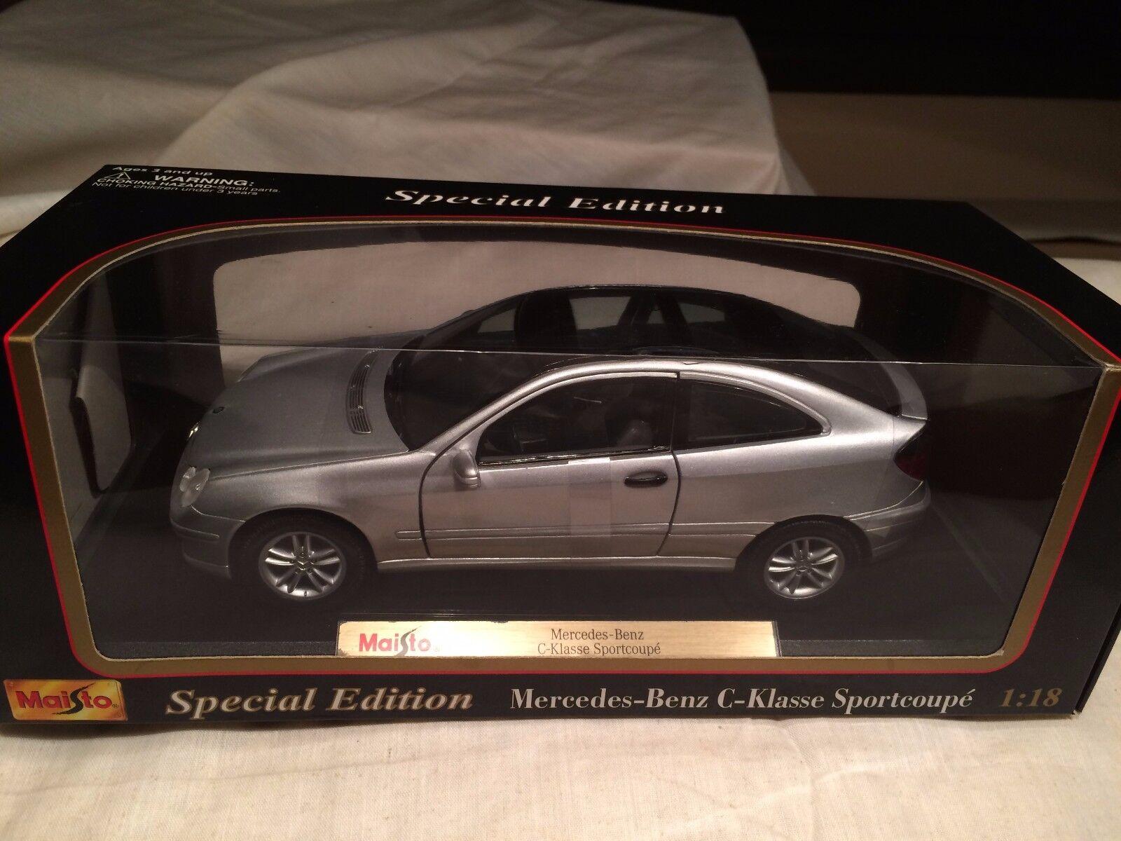 Mercedes Benz C Klasse Sportcoupé Maisto Special Edition 31614 1/18 scale