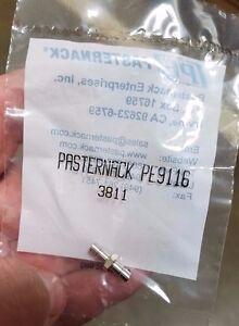 NEW-PE9116-PASTERNACK-SMB-Jack-to-SMB-Jack-Adapter-LOT-OF-2