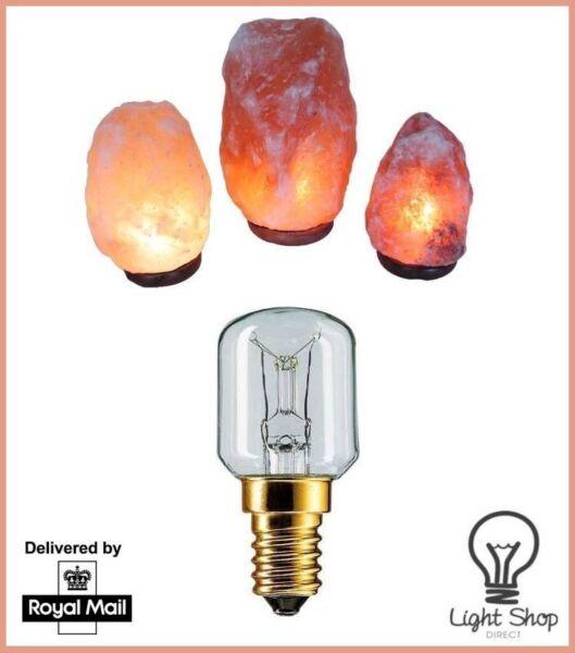 1 X 15w Ses Ricambio Lampada Di Sale Dell'himalaya Gratis P&p Uk Stock