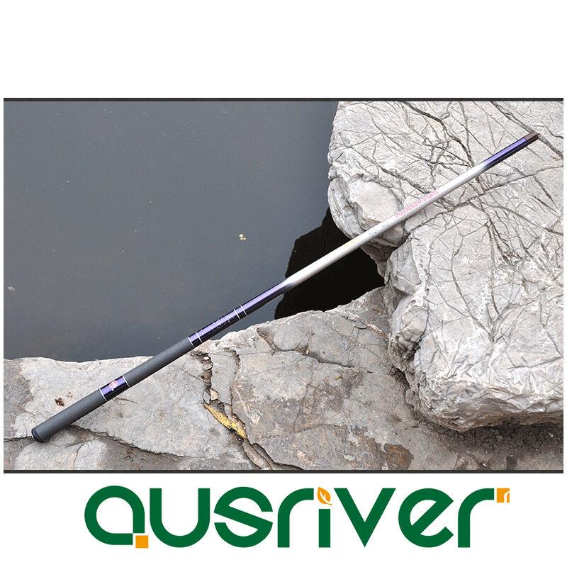 3.6-7.2M Adjustable Portable Ultralight Hand Telescopic Fishing Pole Rod Stream