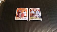 PAPUA NEW GUINEA  1986 SG 529-530 CENT OF LUTHERAN CHURCH.  MNH