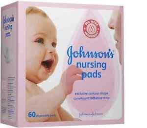 JOHNSON'S Nursing Pads 60 Each (Pack of 4)