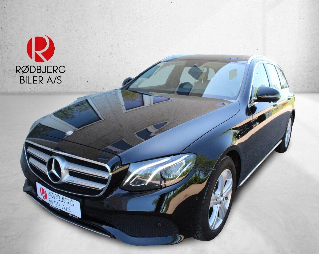 Mercedes E220 d 2,0 Avantgarde stc. aut. 5d - 384.800 kr.