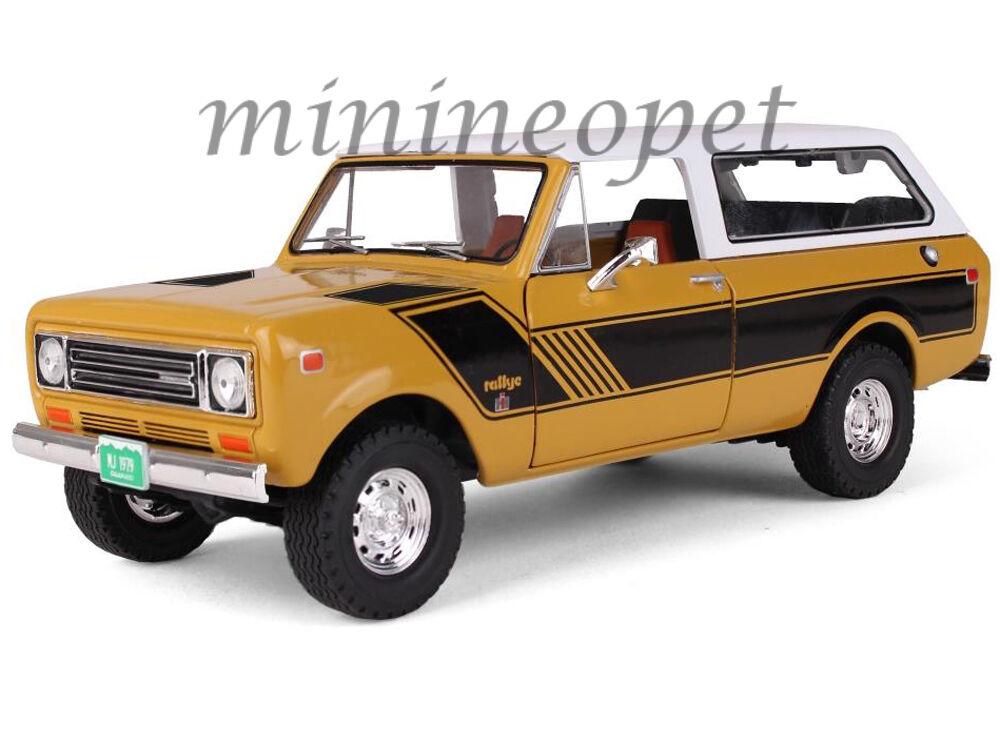 mejor servicio First Gear 40-0364 1979 International International International Scout Harvester Traveler Rallye 1 25 oro  autentico en linea
