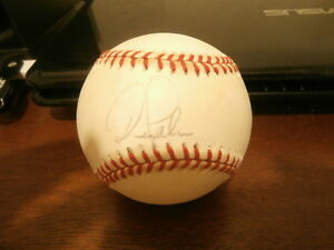 Dean Palmer Autographed Rawlings Baseball Tigers Royals Rangers Signed