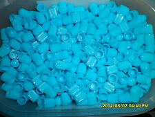 50 x Baby Blue Plastic Dust Caps for Quad, Pit, Monkey, Scooter,Cars,Vans