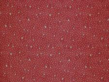 1YD Scandinavian Christmas TINY FOLK ART MUSHROOMS Lynette Anderson Lecien ROSE