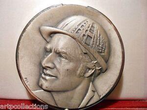 Acheter Pas Cher 1983 MÉdaille Boite Bronze 100 Ans SociÉtÉ Industries Metiers Energie Isolation