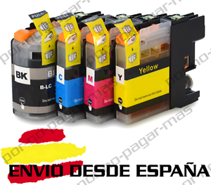 4-CARTUCHOS-COMPATIBLES-NonOem-BROTHER-LC223-DCP-J562DW-DCPJ562DW