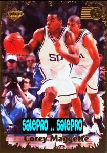 COLLECTOR-039-S-EDGE-1999-COREY-MAGGETTE-NBA-RC-RARE-ROOKIE-RAGE-MINT-GOLD-30