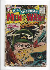 """ALL AMERICAN MEN OF WAR  #25  [1955 PR-FR]  """"FOR RENT-ONE FOXHOLES!"""""""