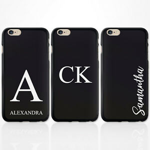 PERSONALISED-INITIALS-BLACK-SILICONE-GEL-IPHONE-XS-MAX-XR-CASE-FOR-APPLE-I-PHONE