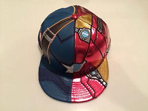 389dd45e New Era Cap Hat Character Armor Captain America Ironman Civil War ...
