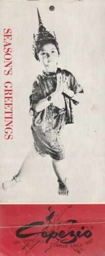 CAPEZIO PROMINENT DANCERS 1957 CALENDAR-MITZI GAYN