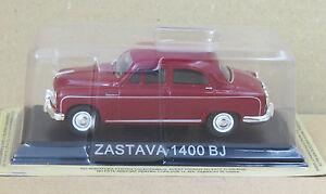 DIE-CAST-034-ZASTAVA-1400-BJ-034-LEGENDARY-CARS-SCALA-1-43