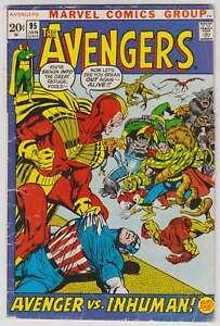 L6769-Avengers-95-Vol-1-VG-VG-Estado