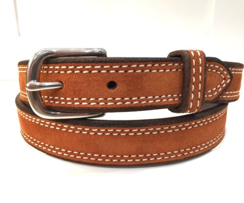 Rust Suede Belt made in the USA-Pumpkin Women/'s Belt-Burnt Orange Belt-Ladies
