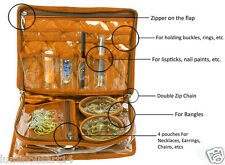 Multipurpose Jewellery Jewelry Pouch Vanity Bag Makeup Bangle Storage Organizer