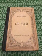 Corneille Le Cid Tragedie Hachette Novel Book French Language Free Shipping
