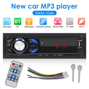 1Din-Car-Radio-Bluetooth-Stereo-MP3-Player-FM-USB-AUX-SD-In-dash-Head-Unit-12V