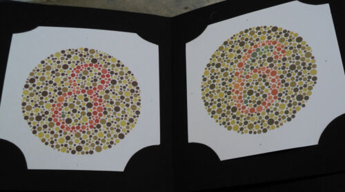 3 BOOKS New 38 PLATE ISHIHARA TESTS BOOK For COLOR BLINDNESS TESTING EYE TESTING