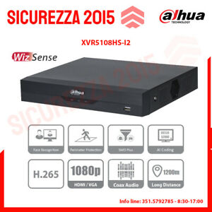 XVR Dahua 8 canali 1080P - XVR5108HS-I2