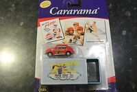 Vintage 05 Pepsi Cararama Tin Box Edition Diecast Vw Red Classic Beetle