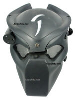 War Game Airsoft Paintball Strike Protection Predator Black Hunter Lighting Mask