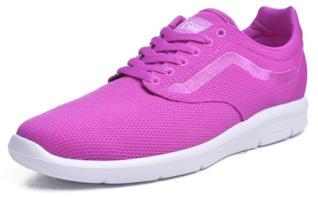 76e12eed576f VANS Mens 7.5 Womens 9 ISO 1.5 Mesh Neon Purple Running Athletic ...