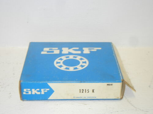 SKF 1215 K NEW SELF ALIGNING DOUBLE ROW BALL BEARING 1215K