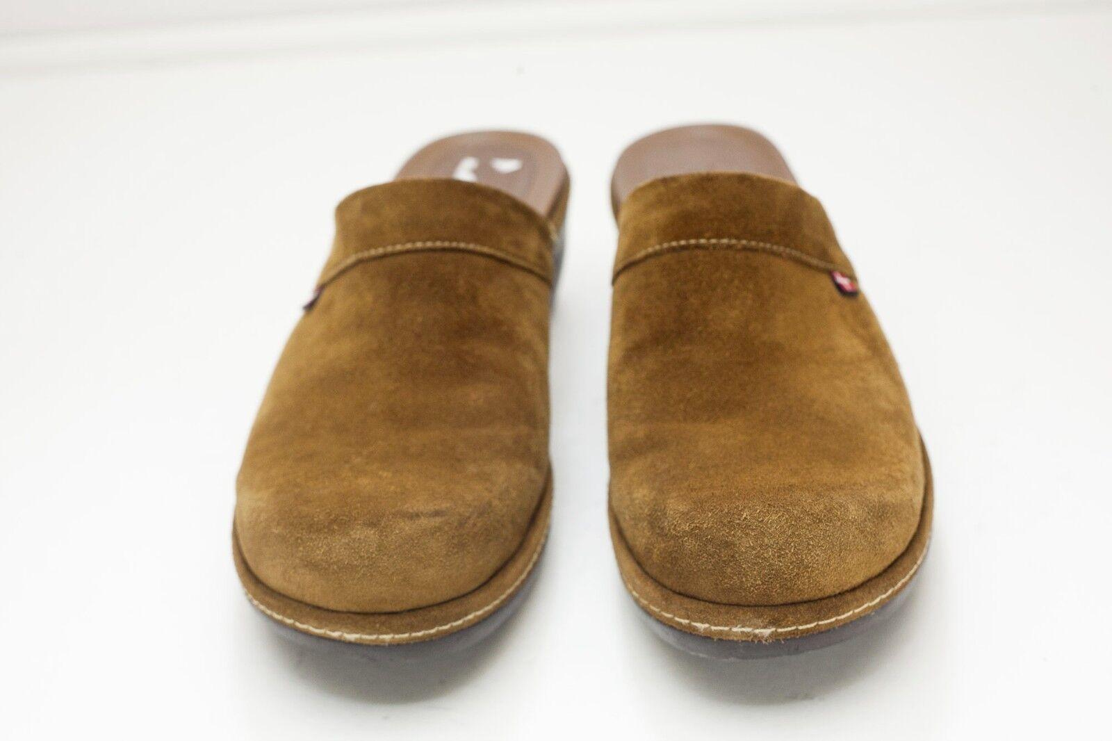 Ecco 8 - EU 8.5 Braun Suede Mules EU - 39 c34045