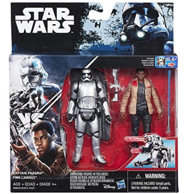 "Jakku Star Wars Finn vs Captain Phasma 3.75/"" Figure 2 Pack Rogue One Wave 3"