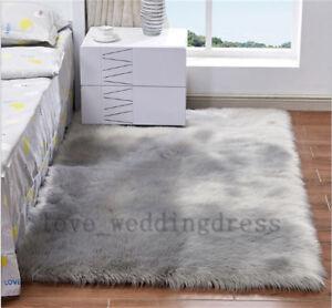 Beau Image Is Loading Faux Fur Balcony Rugs Large Sheepskin Fluffy Bedroom