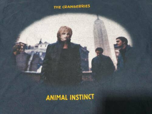 Very RARE !! Vintage 90s The Cranberries Animal In