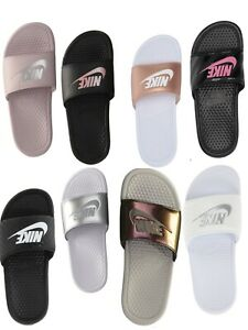 NEW-WOMENS-NIKE-BENASSI-JDI-SLIDE-NEW-in-BOX-PINK-WHITE-BLACK-PURPLE